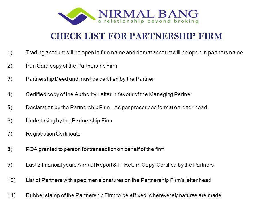 Checklist for KYC November )Pan Card Copy 2)Identity Proof (Any ...