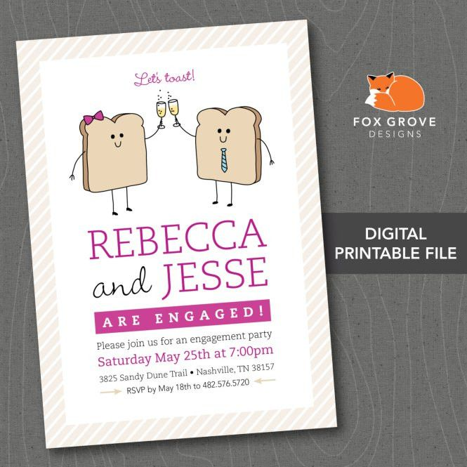 Engagement Party Invitation Wording – gangcraft.net