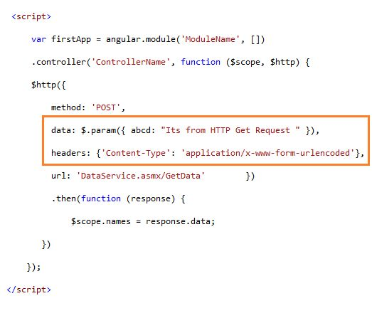 Post Data As Form Data Instead Of Request payload In AngularJs ...