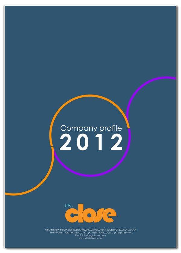 COMPANY PROFILE cover design templates on Behance | SAPICS 2014 ...