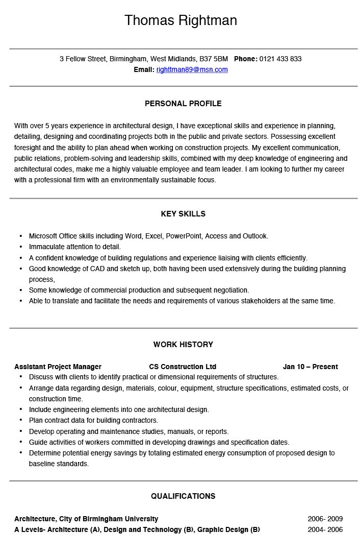12. architectural intern resume samples. technical architect ...