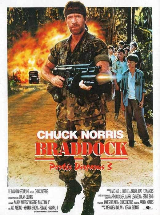 Braddock: Missing in Action III Movie Posters From Movie Poster Shop