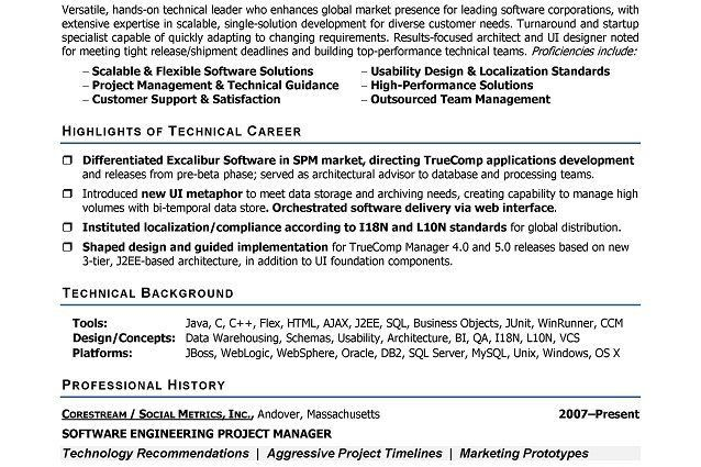 Software Developer Resume Template. Web Developer Resume Download ...
