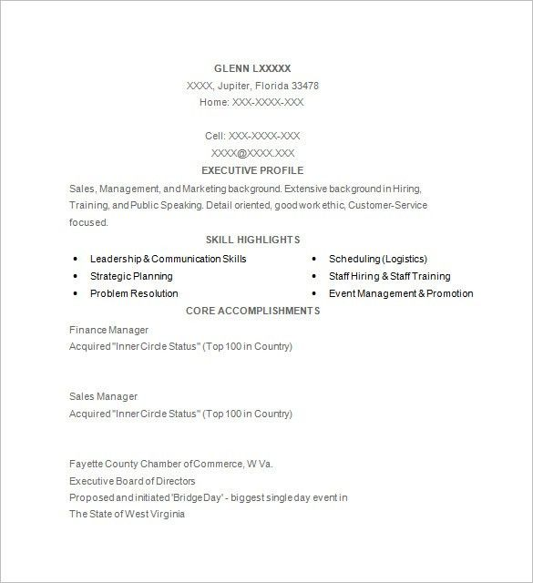 Exciting Golf Resume Template 19 For Free Resume Builder With Golf ...
