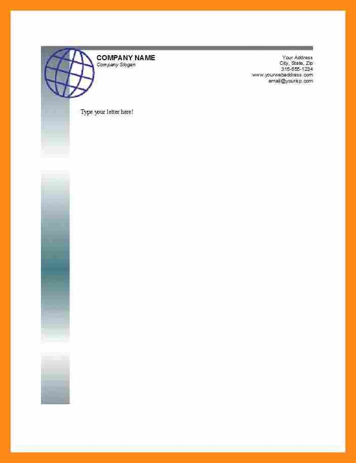 7+ business letterhead sample | actor resumed
