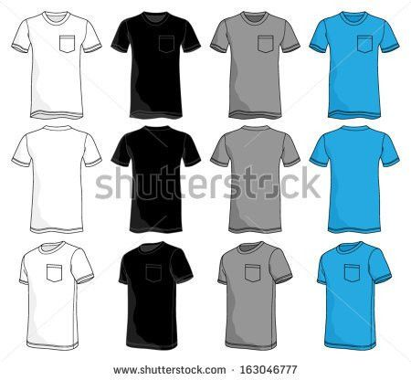 Tee Shirt Template Stock Images, Royalty-Free Images & Vectors ...