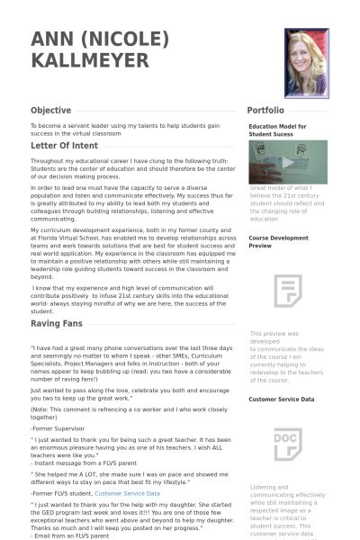Subject Matter Expert Resume samples - VisualCV resume samples ...