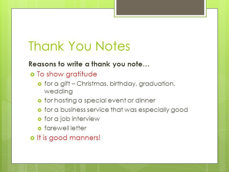 rectangular shape thank you card for birthday gift green color ...