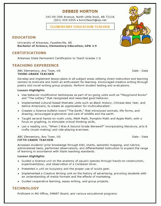 Sample Resume For Bilingual Teacher - Templates