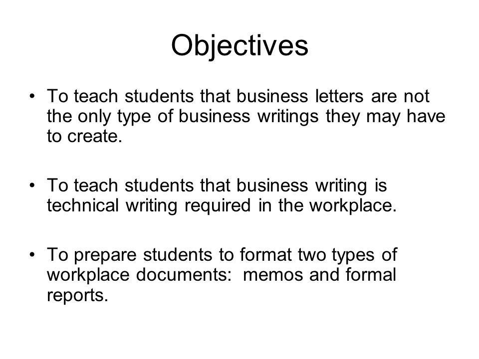 Basic Business Writing - ppt video online download