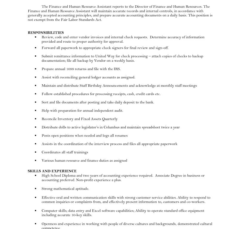 Sumptuous Human Resources Resume Objective 11 Human Resources ...