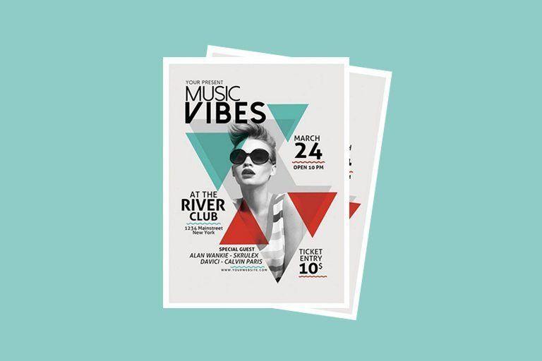30+ Best Music & Band Flyer Templates   Design Shack
