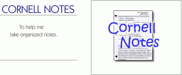 The Learning Toolbox - Cornell Notes