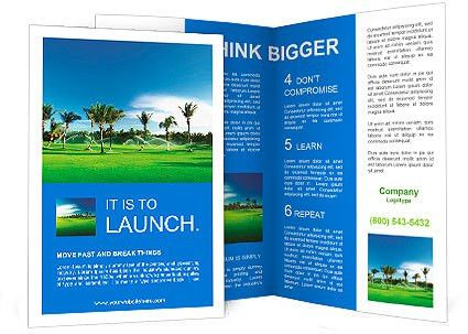 Irrigation golf course in Dominican republic Brochure Template ...