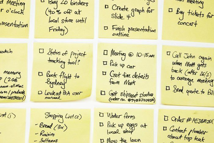 Organize your life and yourself with to-do lists - AgileLeanLife