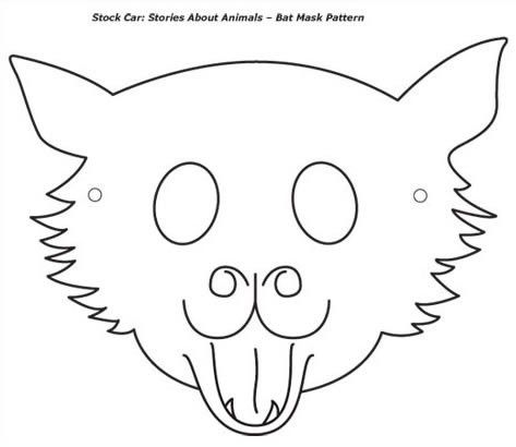 Bat mask template | Halloweenie Decor | Pinterest | Bat mask, Mask ...