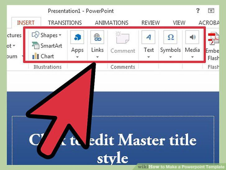 Make a powerpoint template creating a presentation using a make powerpoint template bountrfo toneelgroepblik Choice Image