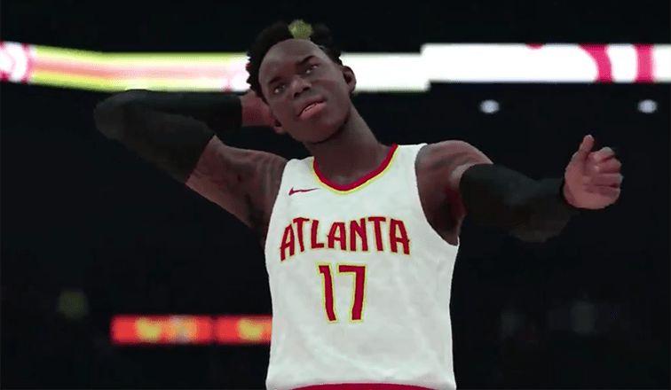 NBA 2K18   Atlanta Hawks