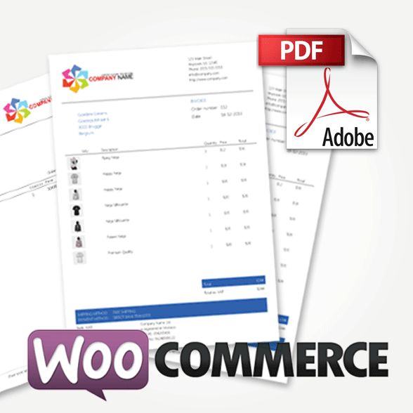 WooCommerce PDF Invoices & Packing Slips Premium Templates