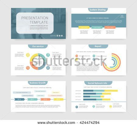 Business Presentation Slide Backgrounds Template Cover Stock ...