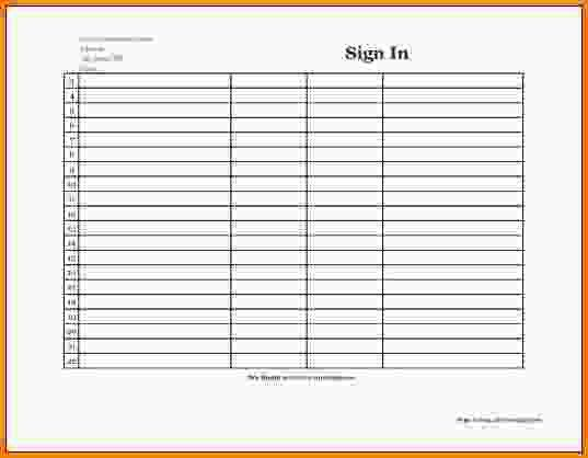 Printable Sign In Sheets.course Sign In Sheet.gif - LetterHead ...