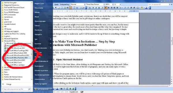 How To Make A Birthday Invitation On Microsoft Word How To Make A - Birthday invitation using ms word