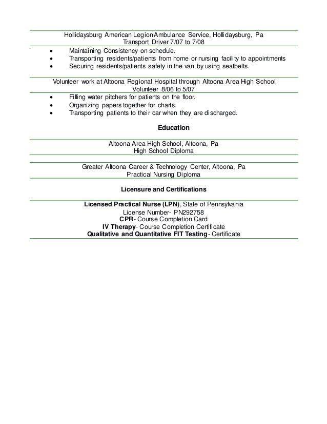 Kenny LPN Resume 2016 Word Document