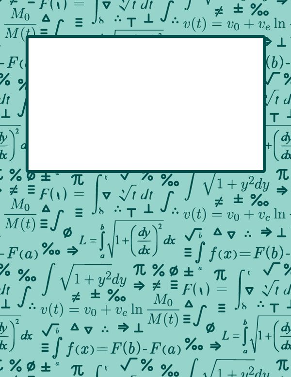 Free printable calculus binder cover template. Download the cover ...