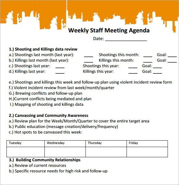 Sample Agenda Workshop Agenda Template Sample Agenda For ...