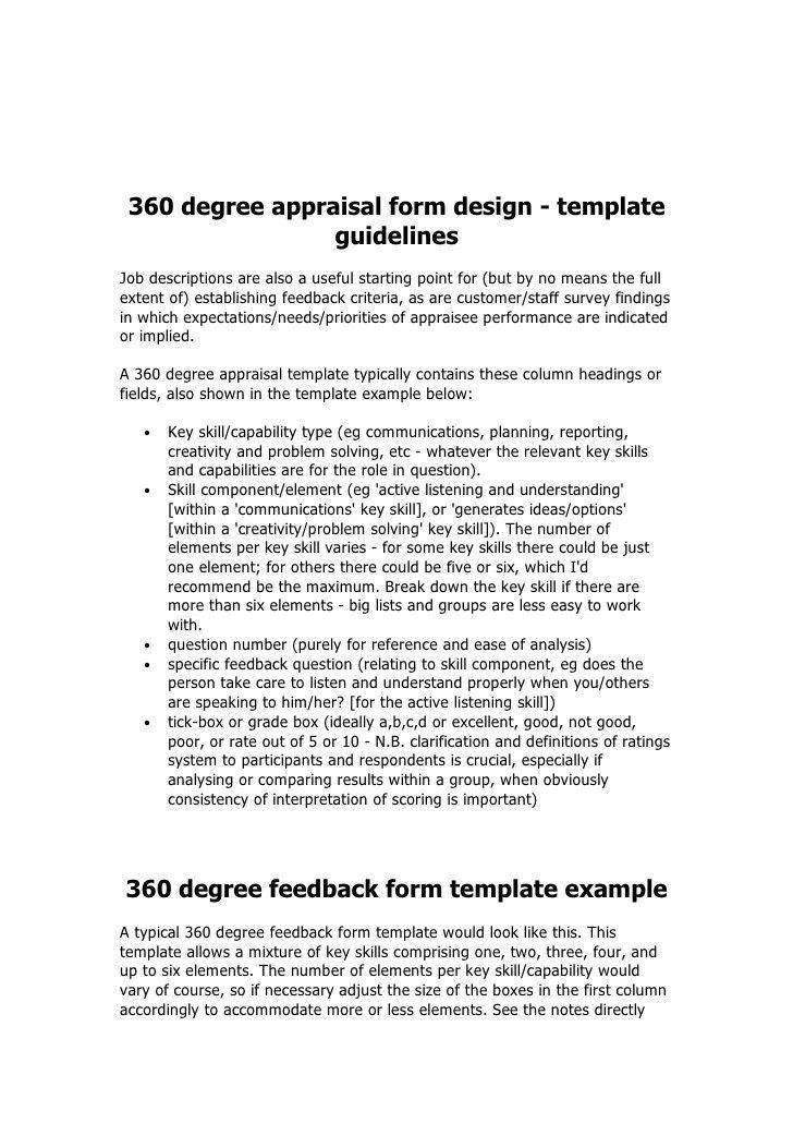 360 Degree Review Template - Contegri.com