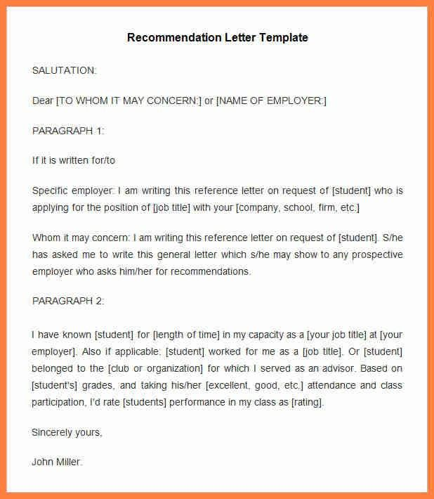 12+ recommendation letter for internship from college | Life ...