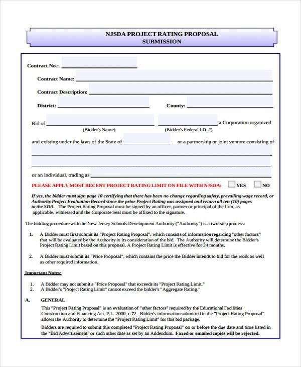 Advertising Proposal Form - 10+ Free Documents in Word, PDF