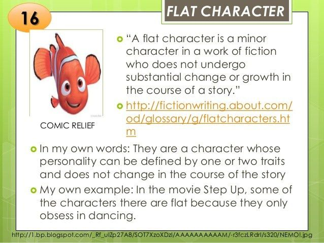 Types of Character in Literature
