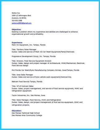 Job description of a car salesman resume