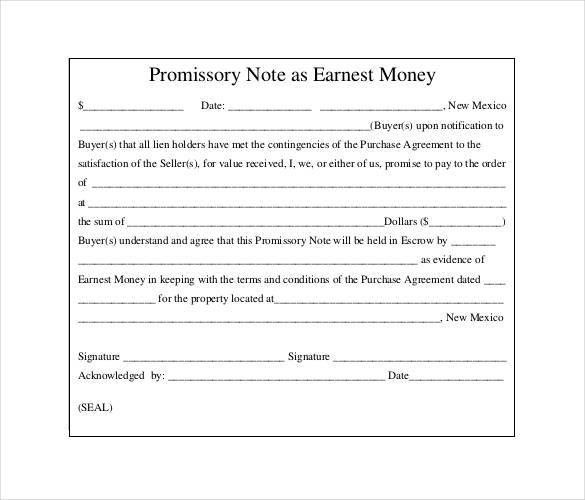 Promissory Note Template   36+ Free Word, PDF Format | Free .  Promise To Pay Template