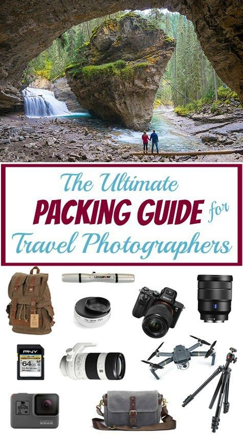 The Ultimate Packing Guide for Travel Photographers