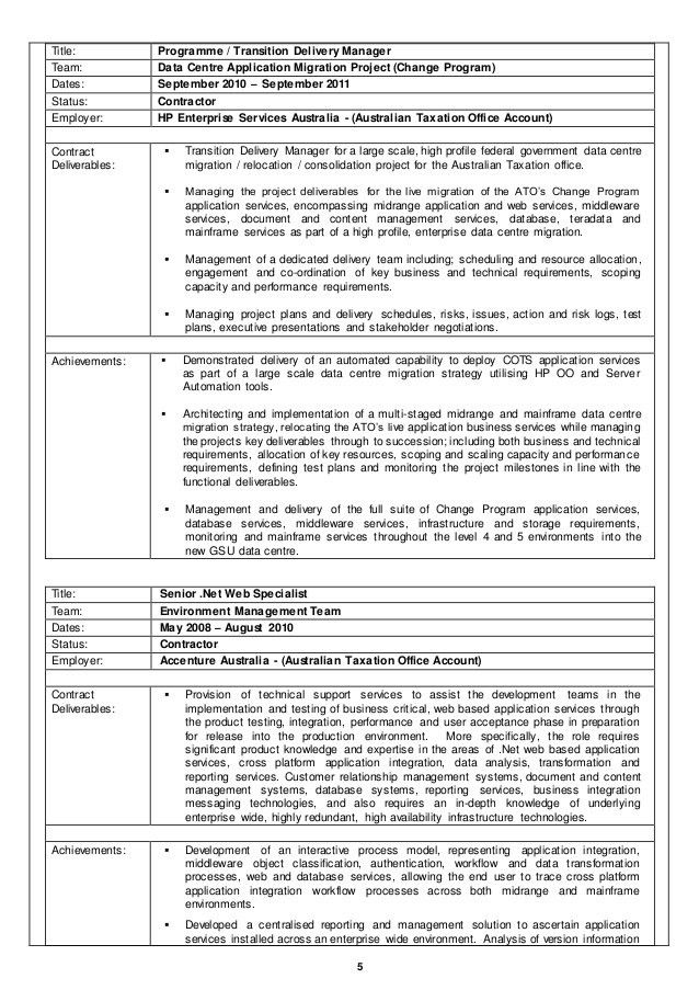 application consultant sample resume application consultant sample ...