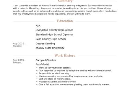 Walmart Overnight Stocker Resume Latest Resume Format, Overnight ...