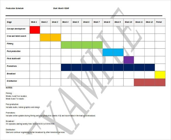 11+ Free Microsoft Word Schedule Templates | Free & Premium Templates