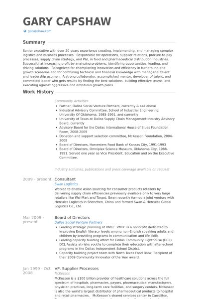 Resume samples for board members : Help to write resume