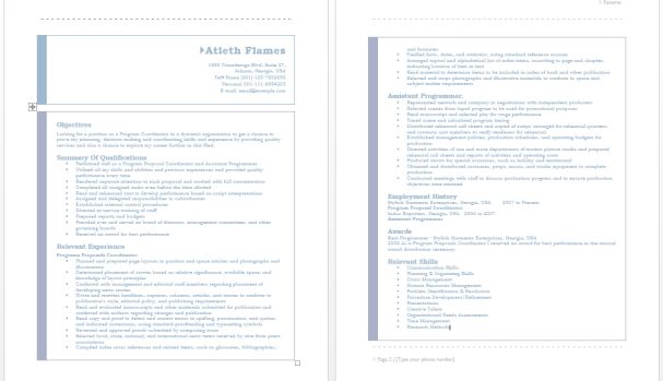 Advertising Coordinator Resume – Sample Resumes