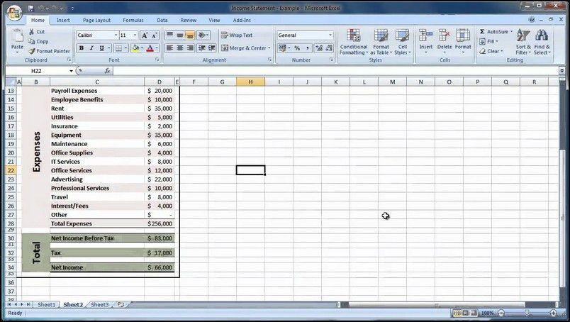 Financial Analysis Template. 15 financial statement templates for ...