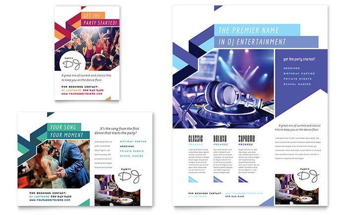 DJ Flyer & Ad Template Design