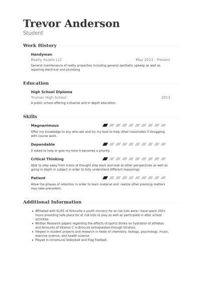 Handyman Resume Sample   jennywashere.com
