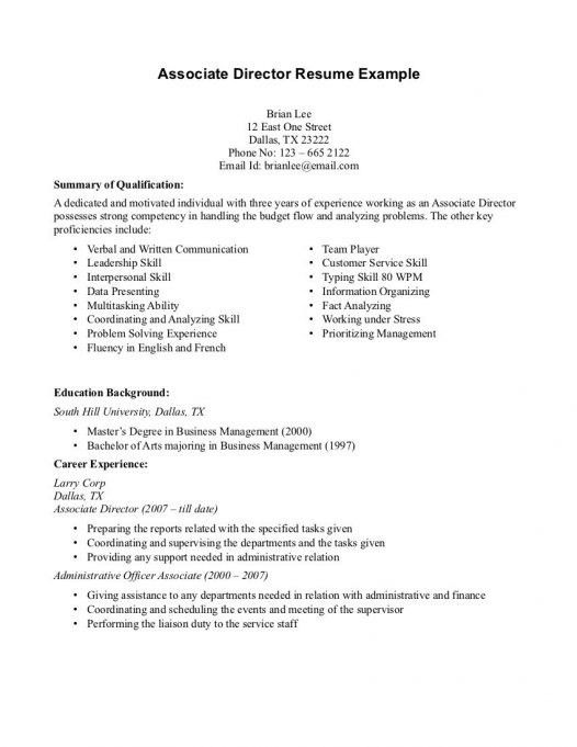 sample resume for entry level retail sales associate 10 sales