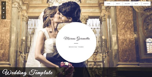 5+ Best Responsive Wedding Website Templates - DesignMaz