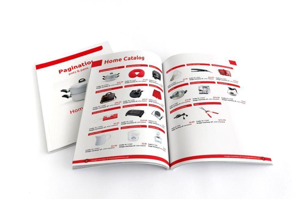 InDesign Free Catalog Template - Pagination.com
