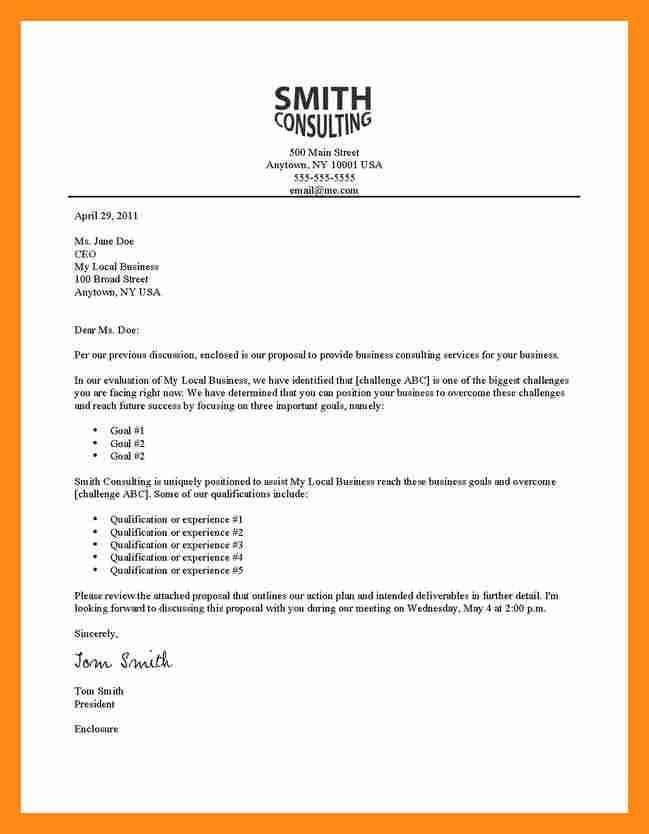 Sample Cover Letter For Business Plan