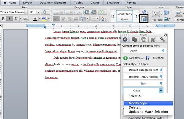 How To Create an MLA Template in Word and Pages