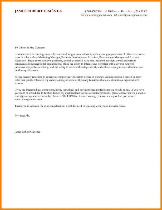 Curriculum Vitae : Cover Letter English Teacher Sample Inside ...